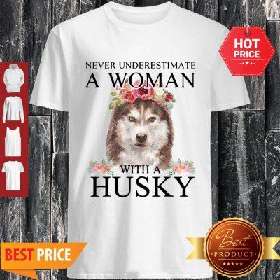 Awesome Womens Siberian Husky Mom Mama Funny Mother Grandma Dog Gift Shirt