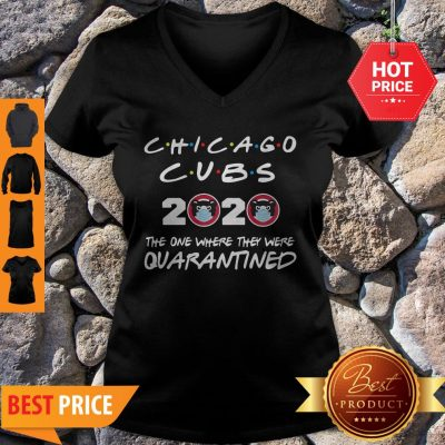 Chicago Cubs 2020 The One Where They Were Quarantined V-neck