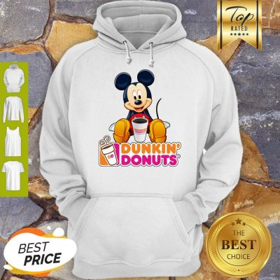 Disney Mickey Mouse Mashup Dunkin' Donuts Hoodie