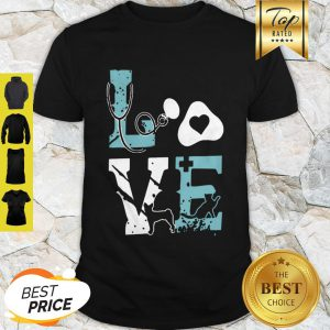 Love Cat Nurse Pet Paw Shirt