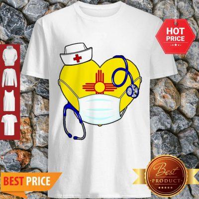 Love New Mexico Nurse Mask Coronavirus Shirt
