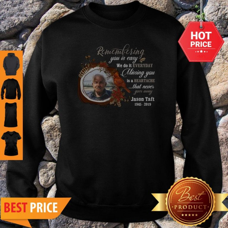 Missing You Is Heartache Photo Memorial Personalized Sweatshirt