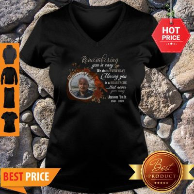 Missing You Is Heartache Photo Memorial Personalized V-neck