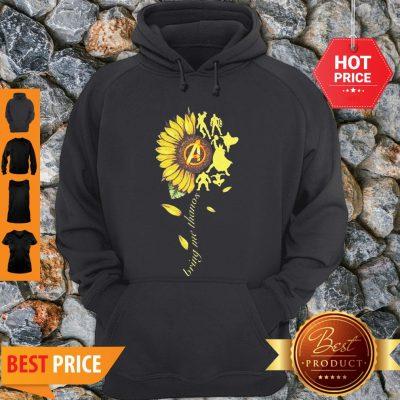 Nice Sunflower Avengers Bring Me Thanos Hoodie