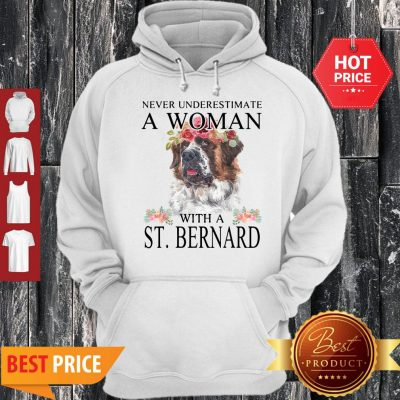 Official Womens St. Bernard Gifts Funny Mom Mama Mother Grandma Dog Hoodie