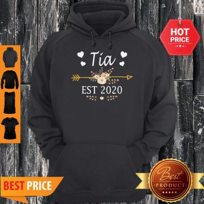 Premium Tia Est 2020 New Tia Gift Mothers Day Hoodie
