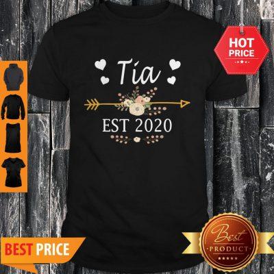 Premium Tia Est 2020 New Tia Gift Mothers Day Shirt