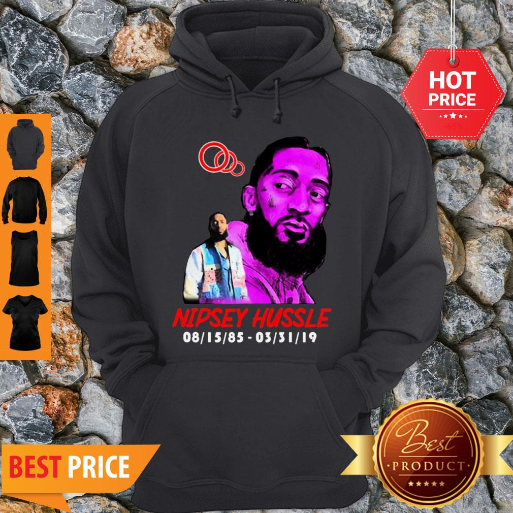 Rip Rest In Peace Nipsey Hussle Thank You For The Memories Hoodie