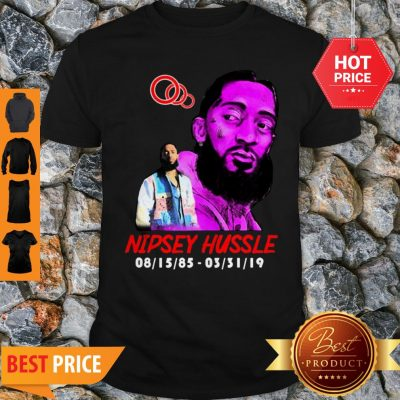 Rip Rest In Peace Nipsey Hussle Thank You For The Memories Shirt