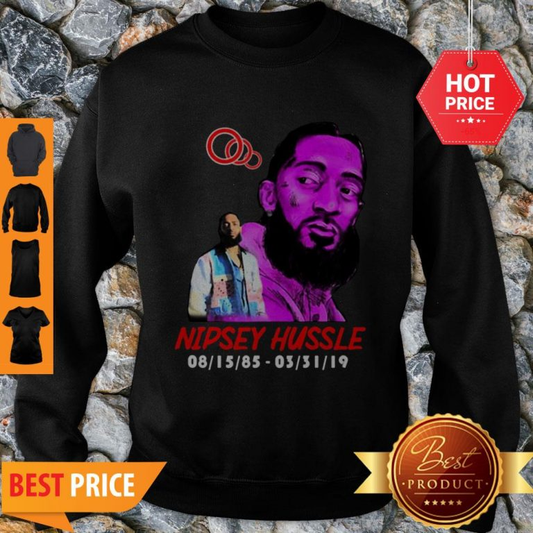 Rip Rest In Peace Nipsey Hussle Thank You For The Memories Sweatshirt