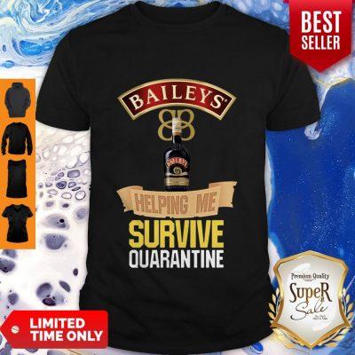 Awesome Balleys Helping Me Survive Quarantine Coronavirus Shirt