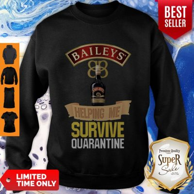 Awesome Balleys Helping Me Survive Quarantine Coronavirus Sweatshirt