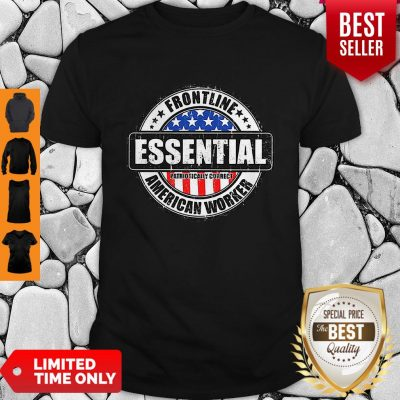 Frontline Essential American Worker American Flag Shirt
