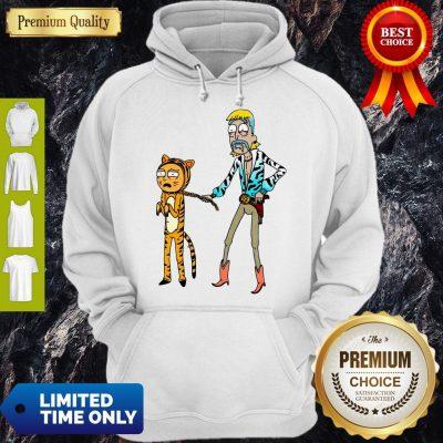 Rick And Morty Joe Exotic Tiger King Hoodie
