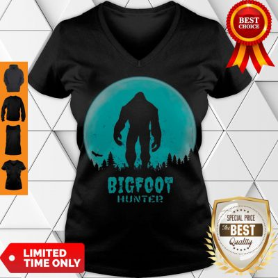 Official Bigfoot Hunter V-neck