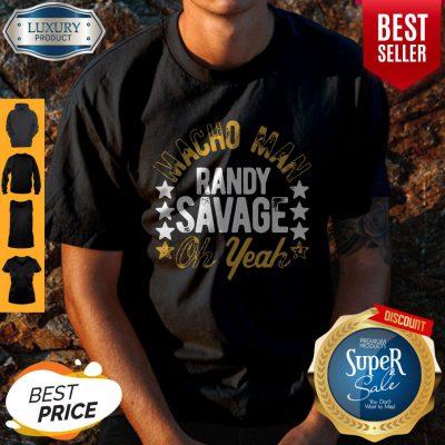 Official Black Macho Man Randy Savage Oh Yeah Shirt