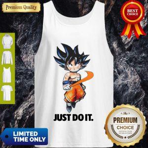 Pretty Nike Songoku Just Do It Dragon Ball Tank Top