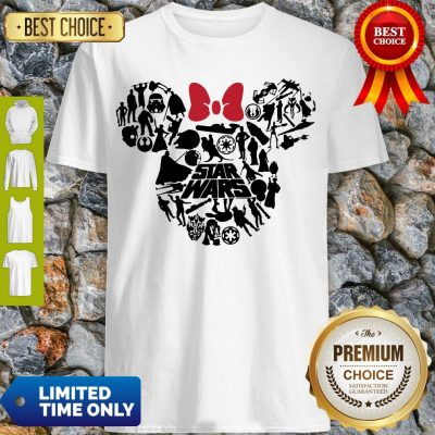 Top Mickey Mouse Star Wars Shirt