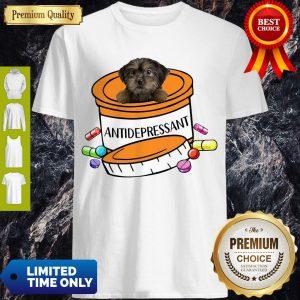 Premium Yorkiepoo Antidepressant Shirt