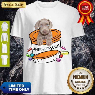 Official Weimaraner Antidepressant Shirt
