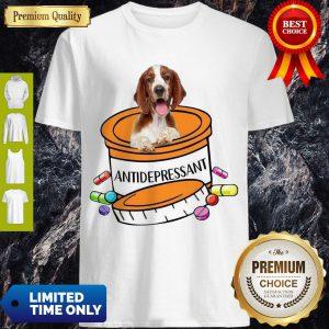 Top Welsh Springer Spaniel Antidepressant Shirt