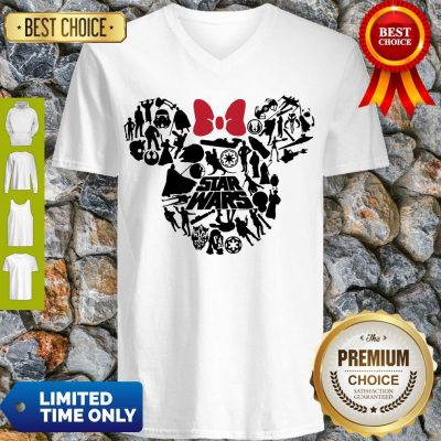 Top Mickey Mouse Star Wars V-neck