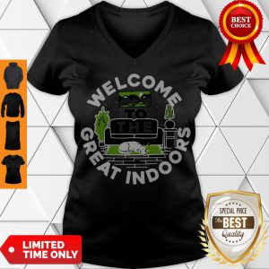 Official Welcome To The Great Indoors V-neck