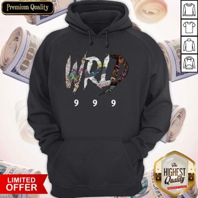 Awesome Official RIP Juice WRLD 999 Hoodie