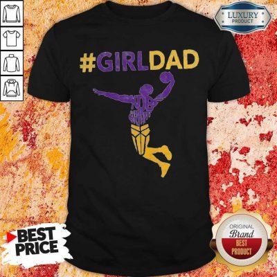 Funny Kobe Bryant Girl Dad Shirt