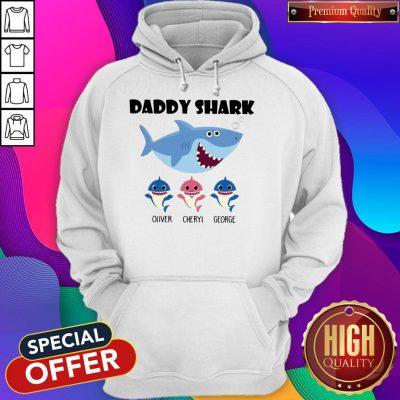 Good Daddy Shark Oliver Cherry George Hoodie