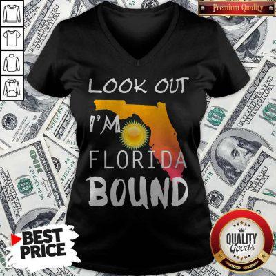 Good Florida Bound Vacation Spring Break V-neck