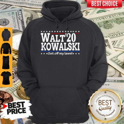 Premium Walt Kowalski 2020 Get Off My Lawn Hoodie