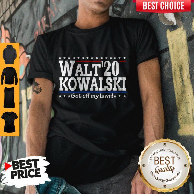 Premium Walt Kowalski 2020 Get Off My Lawn Shirt