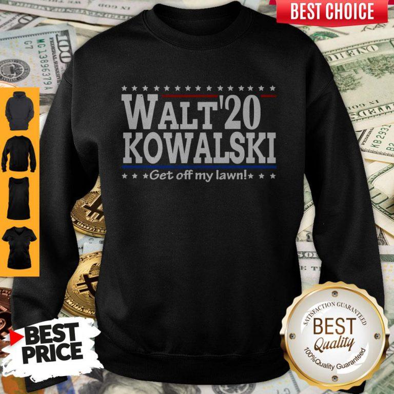 Premium Walt Kowalski 2020 Get Off My Lawn Sweatshirt