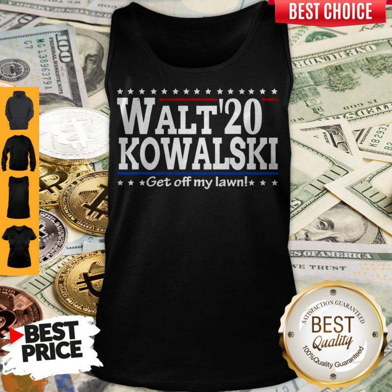 Premium Walt Kowalski 2020 Get Off My Lawn Tank Top
