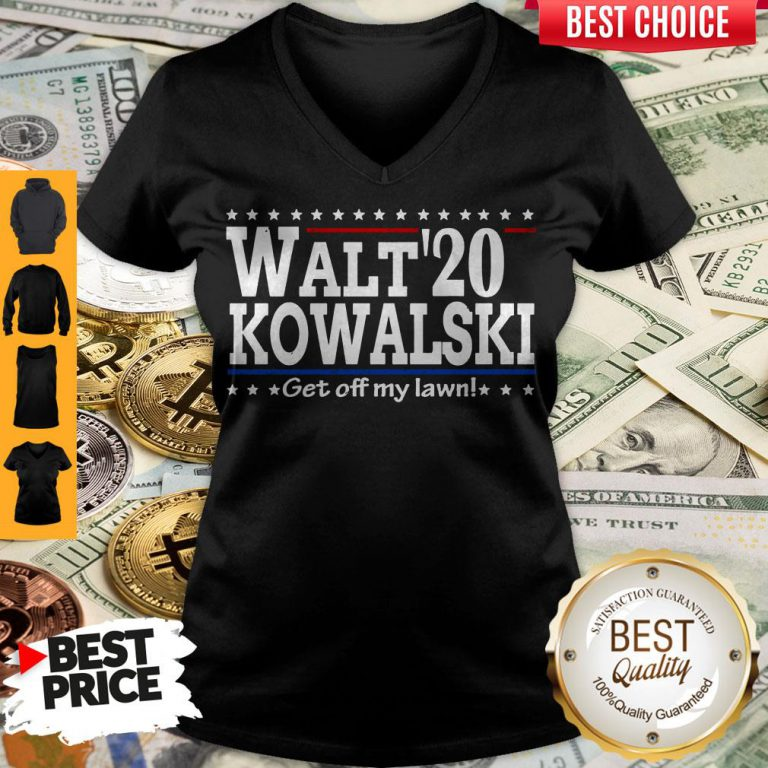 Premium Walt Kowalski 2020 Get Off My Lawn V-neck