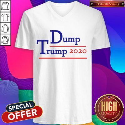 Pretty Dump Trump 2020 V-neck