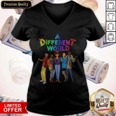 Awesome A Different World V-neck