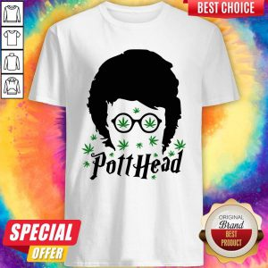 Awesome Harry Potter Potthead Weed Cannabis Shirt