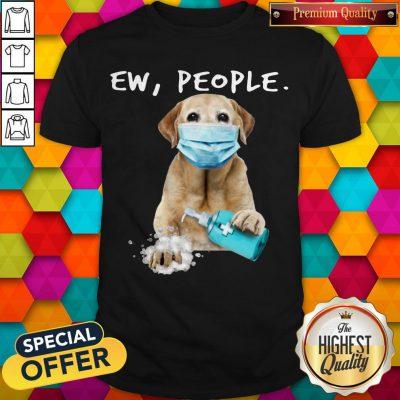 Awesome Labrador Retriever Face Mark Ew People Shirt