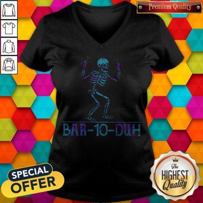 Awesome Skeleton Drink Bar-20-Duh V-neck