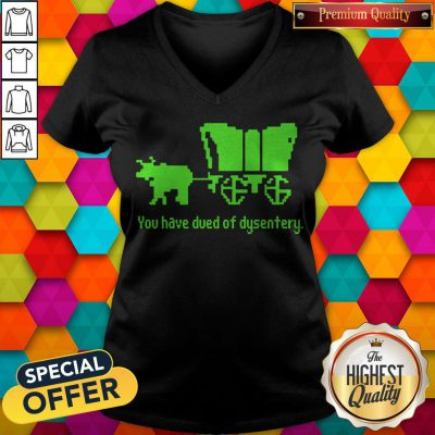 Awesome You Have Died Of Dysentery V-neck