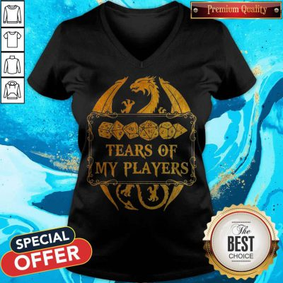 Funny Dnd Tears Of My Players V-neck