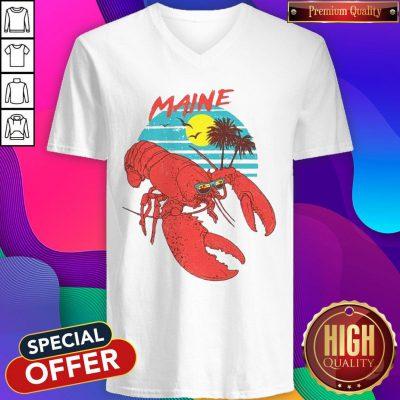 Good Maine Lobster Sunglasses V-neck
