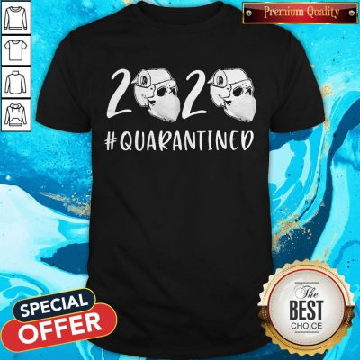 Nice Skull Toilet Paper 2020 Quarantined Shirt