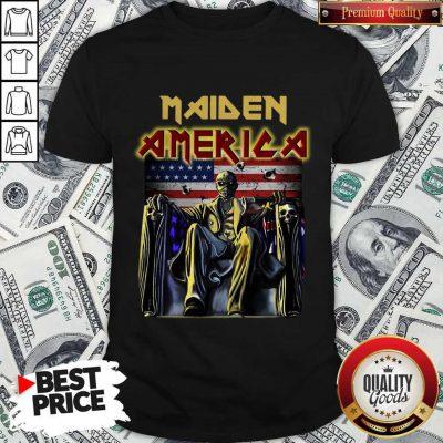 Pretty Maiden America Flag Shirt