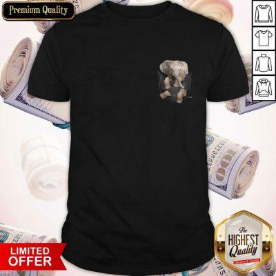 Pretty Pocket In A Elephants Shirt