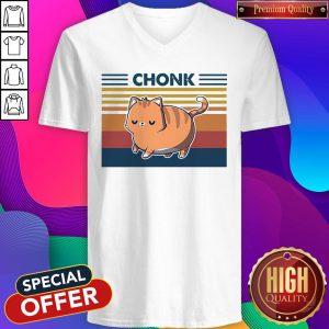 Top Cat Chonk V-neck