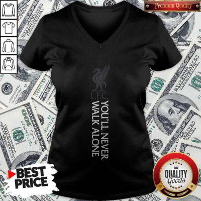 Top Liverpool Fc You'll Never Walk Alone V-neck
