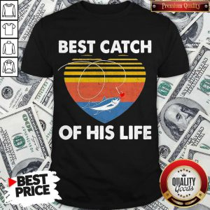 Couple Fishing Best Catch Of This Life Vintage Retro Shirt